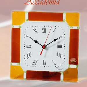 orologio in vetro di murano accademia