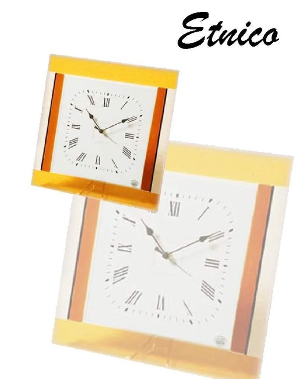 orologio in vetro etnico
