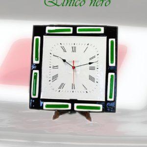 orologio in vetro di murano etnico