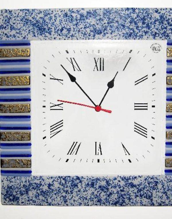 orologio in vetro di Murano Incanto