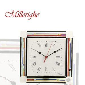 orologio in vetro millerighe