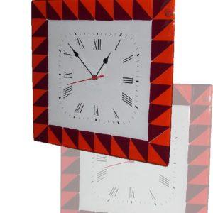 orologio in vetro di Murano Sun
